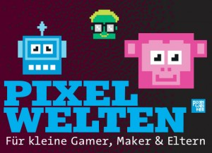 Pixelwelten-Flyer